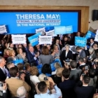 Theresa May at the Hall